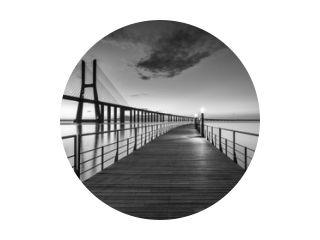 Vasco da Gama Bridge at B&W
