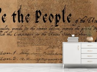Written constitution of the United States 4k