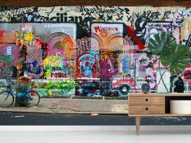Graffiti on City Streets