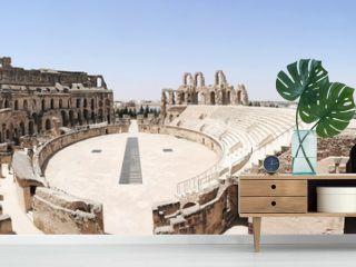 Amphitheatre of El Jem Tunisia
