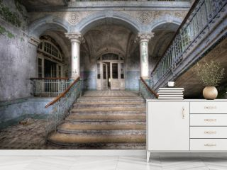 Old stairs in Beelitz