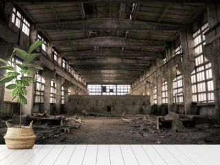 Abandoned Industrial interior