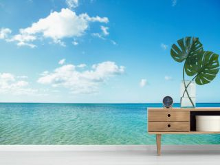 沖縄の海と青空