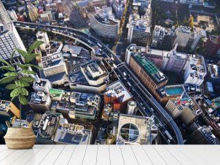 Ikebukuro à Tokyo, vue d'en haut - Japon