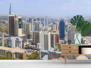 aerial view of Nairobi