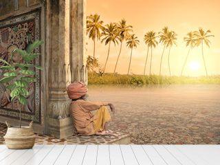 Summer in India.