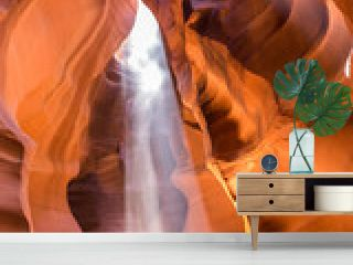 Antelope Canyon in the Navajo Reservation near Page, Arizona, USA.