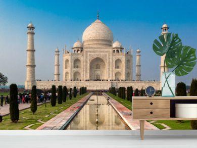 UNESCO World Heritage Site of Taj Mahal, Agra, Rajasthan, India