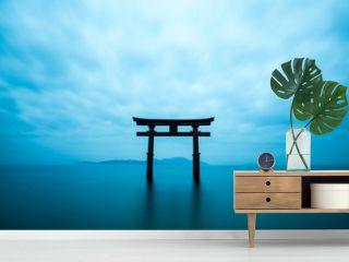 Shirahige shrine,takashima city,shiga,japan