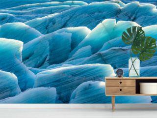Gletschereis in der Sonne