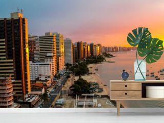 Sunset in Fortaleza, Brazil