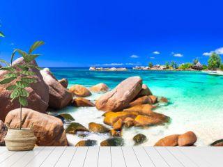 most beautiful tropical beaches - Seychelles ,Praslin island