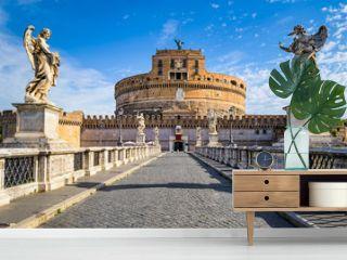 Saint Angel Castle, Rome, Italy