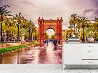 TheArc de Triomf, Arco de Triunfoin Spanish, a triumphal arcin the city of Barcelona, in Catalonia, Spain