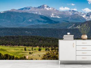 Rocky Mountains, panoramic landscape, Colorado, USA