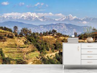 Landscape East of Kathmandu, Nepal