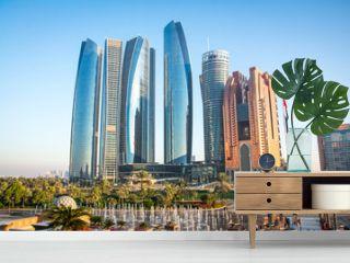 View of Abu Dhabi city, United Arab Emirates