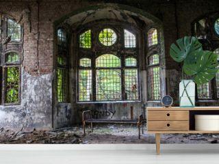 Ruins of Beelitz-Heilstätten Lost place Berlin Brandenburg