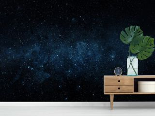 Space scene with stars in the galaxy. Panorama. Universe filled with stars, nebula and galaxy,. Elements of this image furnished by NASA