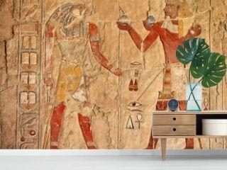 ancient egyptian fresco