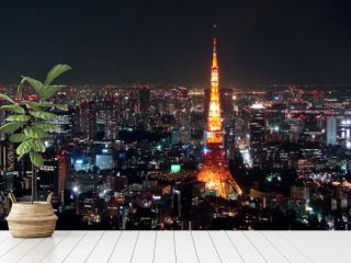 Tokyo view by night