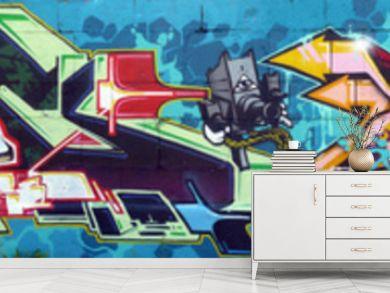 Graffiti large wall