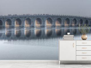 the 17 arch bridge summer palace beijing