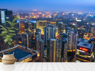 Central Business District of Beijing, China