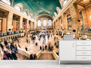 Interior of Grand Central Terminal in New York City