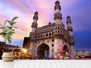 400 Year old historic Charminar in Hyderabad India