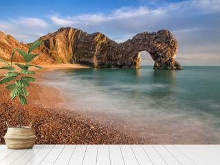 Durdle Dor a rock arch off the Jurassic Coast Dorset England