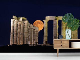 Sounion temple.Greece.