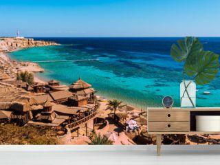 Red Sea coastline  in  Sharm El Sheikh,  Egypt, Sinai