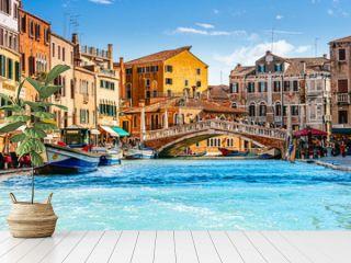 Ponte delle Guglie (Bridge of Spires) in Venice, Italy