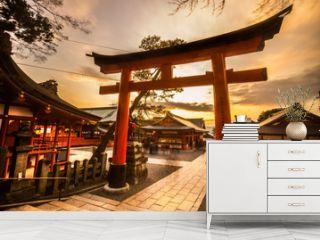 Fushimi Inari Taisha Shrine in Kyoto,