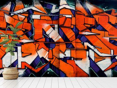 Graffiti - scritta hip hop