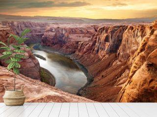 Colorado river deep canyon Horseshoe Bend, Southwest