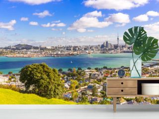 Skyline of Auckland  1, New Zealand