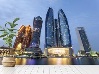 Etihad Towers in Abu Dhabi, UAE