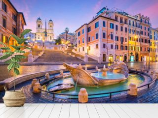 Spanish Steps in the morning, Rome