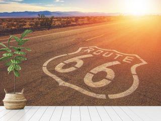 California Route 66 Mojave