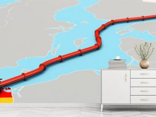 Nord Stream 2 Pipeline, Illustration