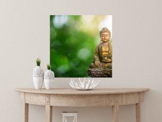 buddha on background