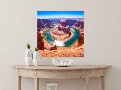 Horseshoe Bend on the Colorado River near Page, Arizona, USA