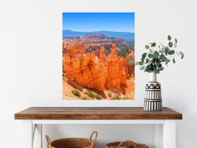 Panoramic view of Bryce Canyon National Park Utah, USA