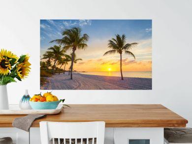 Sunrise on the Smathers beach - Key West, Florida